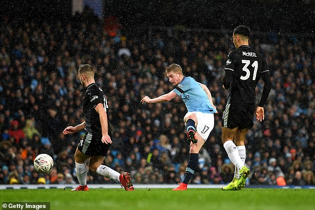 Kevin De Bruyne  lashed the ball home to put City 3-0 ahead and out of reach on Saturday  Pep Guardiola latest comment will not make Manchester City players and fans happy. 9019224 6637937 Kevin De Bruyne had taken on Riyad Mahrez s pass and lashed the  a 12 1548627566076
