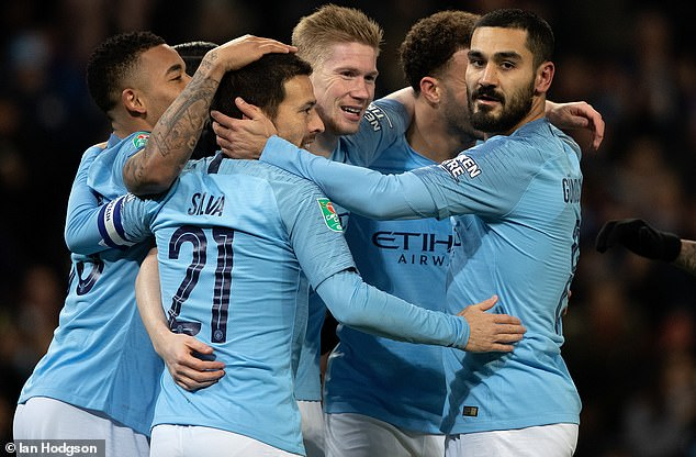 Manchester City had their trip to Everton rearranged after the reached the Carabao Cup final