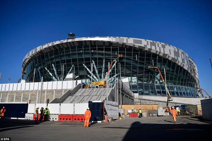 The touch of Tottenham approaches the new £ 1 billion stadium, while the final touches are applied