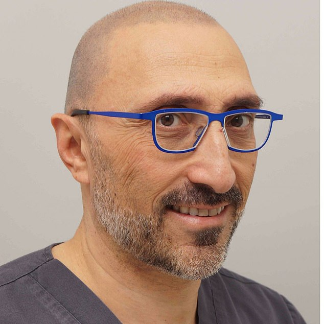 LeadingUK hair transplant surgeon Dr Bessam Farjo said the unique method would be an 'insurance policy for later life' for anyone with a family history of hair loss
