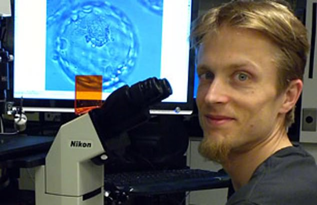 The Columbia University biologist, Dr Dietrich Egli, is genetically modifying human embryos and allowing them to develop for a day among the controversies over the first