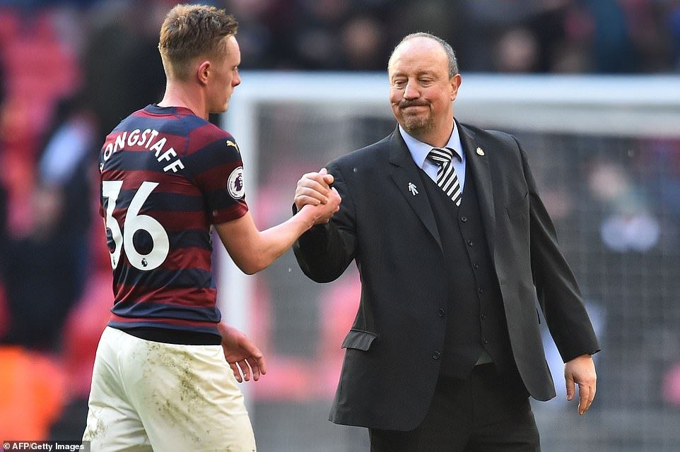 Magpies boss Rafa Benitez could not end their eight-game winless run at Wembley that stretches back to 1955