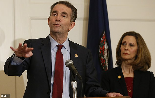 Ralph Northam in a Saturday press conference denied being in a racist photograph in his 1984 school yearbook and is refusing all calls to step down