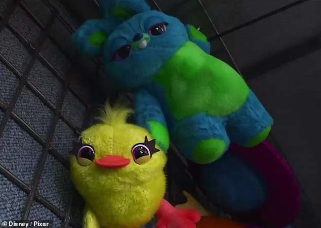 New characters: Disney Pixar debuted with a new Super Bowl trailer for Toy Story 4, which introduced new characters Bunny and Duckie