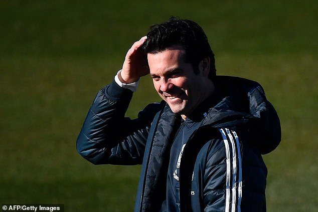Real coach Santiago Solari says he has a welcome selection dilemma over his forwards