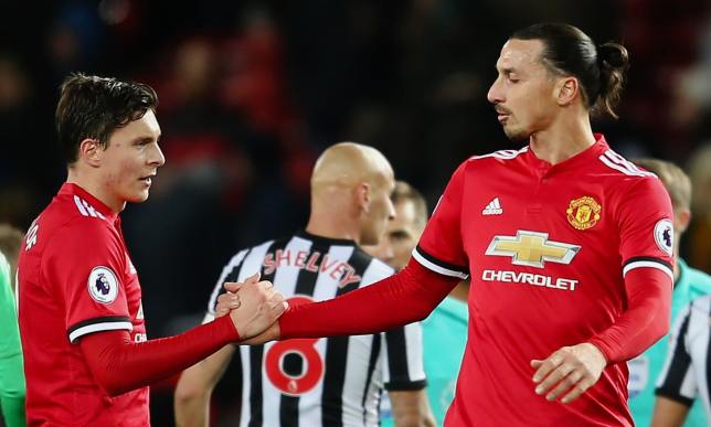 Zlatan Ibrahimovic reveals advice given to Victor Lindelof at ...
