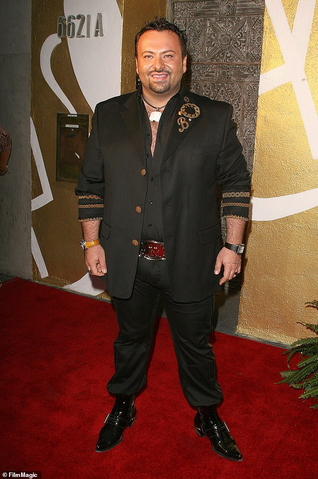 Before his business crumbled, the cosmetics mogul (pictured in 2007) graced the pages of high-gloss magazines, prestigious fashion runways and Hollywood red carpets