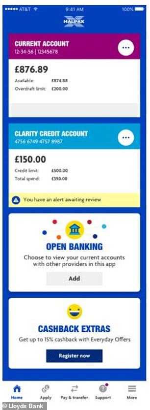 Lloyds Bank Reveals New Open Banking App Feature To See Rival Accounts This Is Money