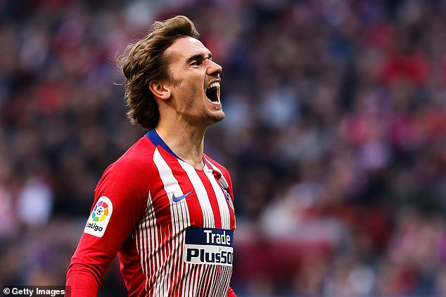Atletico Madrid starAntoine Griezmann surprisingly makes up the top three best-paid players