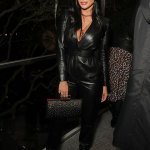 Hell for Leather: Nicole Scherzinger at  the Hammer Museum