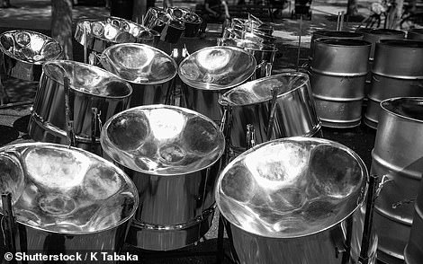 Sound of the Caribbean: Steel bands will entertain revellers