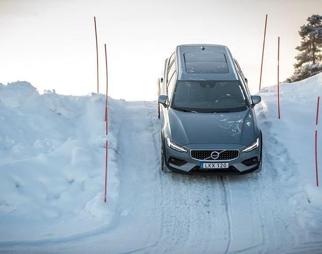 All weather car: The Volvo V60 Cross Country can be used in extreme conditions