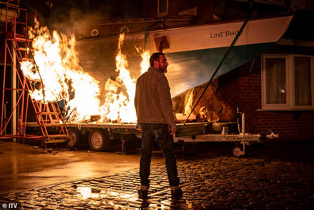 Burning: The scenes are made after the teenager has shown Aadi and Asha around the yacht, which is currently parked on the cobblestones