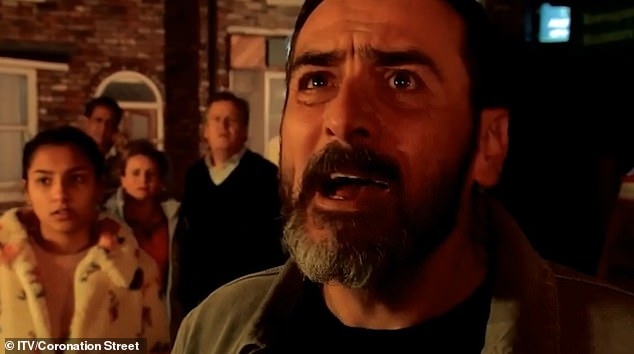 Worried Father: And it does not take long for Asha to tell Peter that Simon is trapped in the burning yacht and the desperate father is calling for his son
