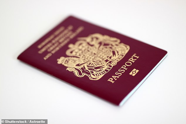 The text directed people to a new 'passport-checker' service on the official Gov.uk website