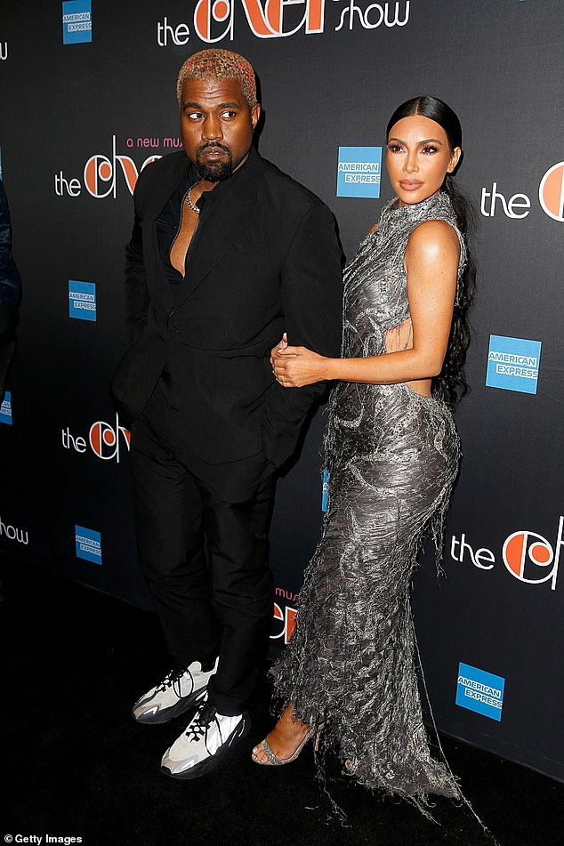 Famous family! Kanye is married to Khloe's sister, Kim Kardasian