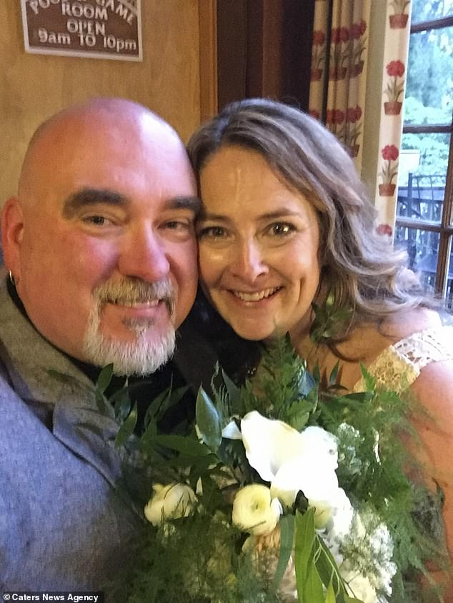 """Soulmates: This year the couple will celebrate their 35th Valentines Day together. Douglass says: """"Every year I still ask her if she'll be my Valentine, but she always makes me wait."""""""