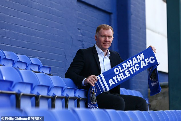 Paul Scholes has made his long awaited move into management with Oldham Athletic  Paul Scholes reveals why he is worried about Jose Mourinho as he begins his managerial career 9680198 6691505 image m 74 1549905015411