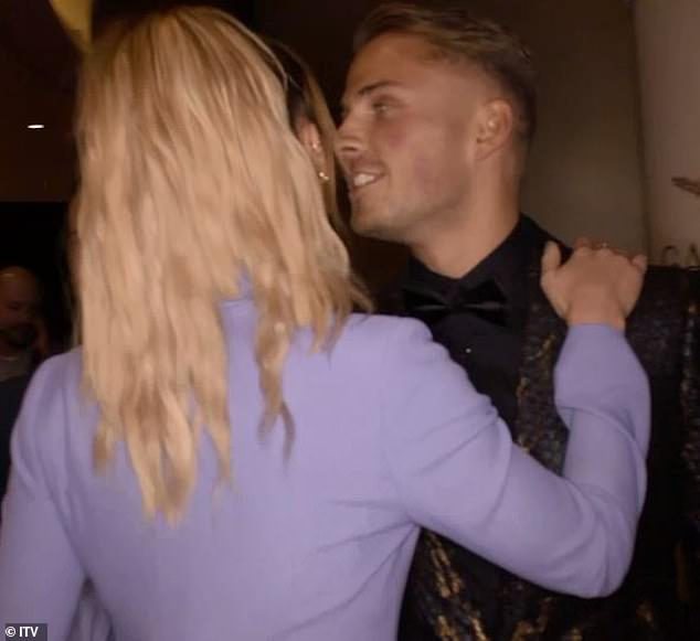 Oh!After revealing in last week's episode that she's ready for love, Ferne's flirtation with Charlie played out in front of the cameras - in scenes set to air months after she refuted claims they were an item despite various sightings together