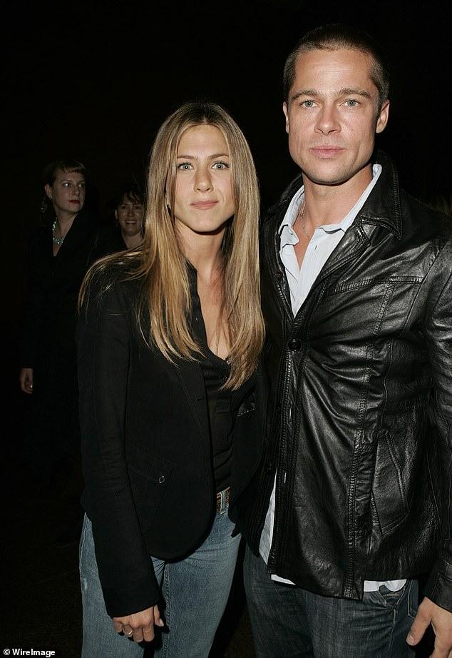La façon dont ils étaient: Les deux ont été mariés de 2000 à 2005; vu ici en 2004