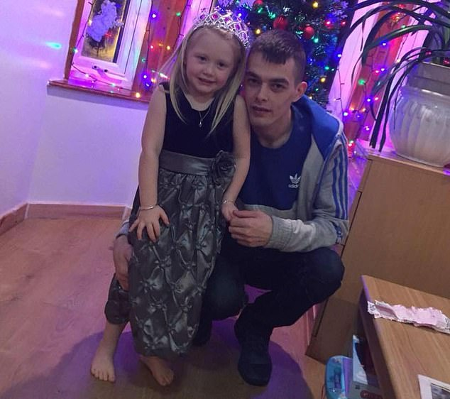 Alesha's father Mr MacPhail with his daughter.That Mr MacPhail will have to live with the knowledge that he served as a drug dealer to his daughter¿s killer is one of the many tragedies of this case