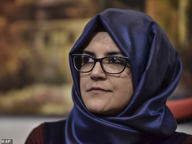 The Turkish police believe that Hatice Cengiz could also be the victim of the murder if the mercenary knew she was outside