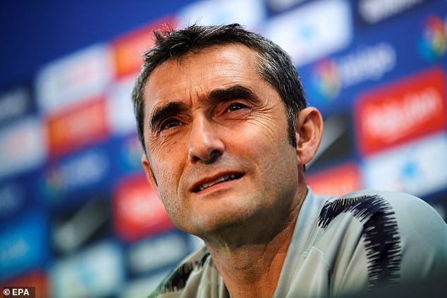 Ernesto Valverde accepts that he must deliver more silverware to justify his contract