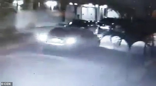 The Abduction: A car is seen on CCTV driving to a house where Mrs. Carrera knocks on the door to pick up one of her children for about 15 seconds
