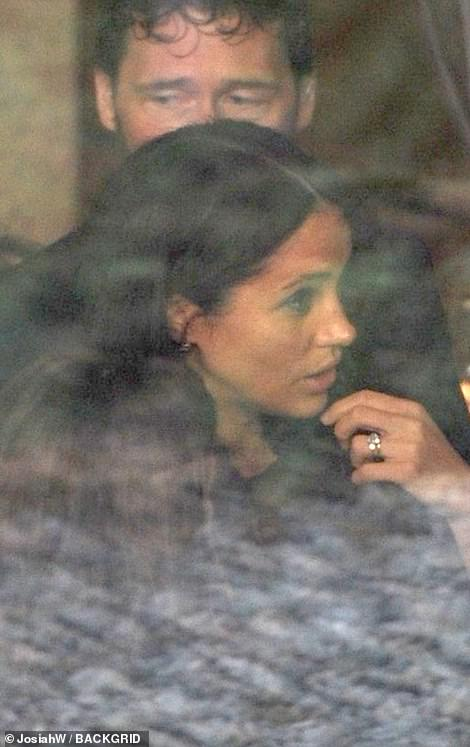 Grabbing a snack? During her visit to the Met Breuer, Meghan was seen popping into the museum's restaurant, where she appeared to be deep in conversation at one point