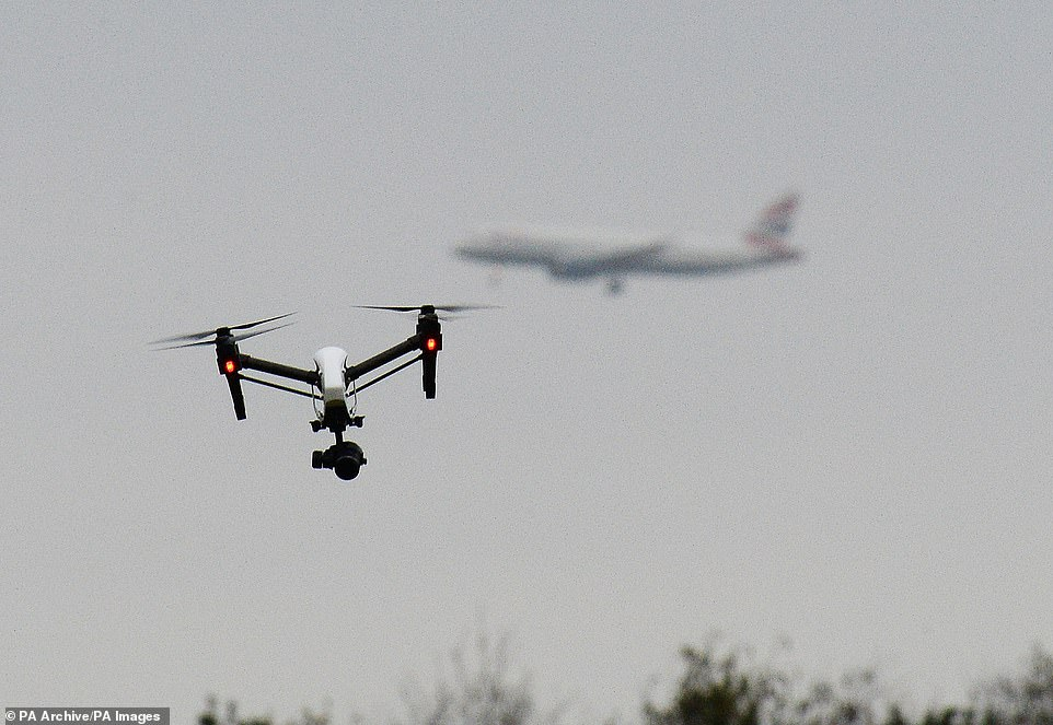 Britain's no drone zones: Interactive map reveals number