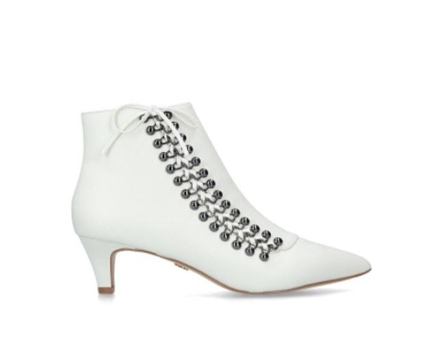 The Rita boot, with it's cool mod style and kitten heel, is proving a hit for Kurt Geiger, with sales booming since London Fashion Week
