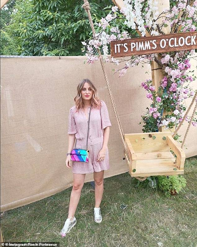 Featuring a quirky bird head clasp has been a hit with celebrities and fashion bloggers too and counts Made In Chelsea's Rosie Fortescue as a fan