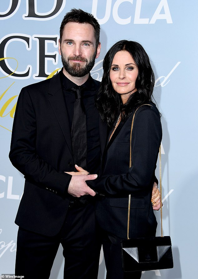 Closer than ever: Courteney now seems to have confirmed that they no longer have plans to wed