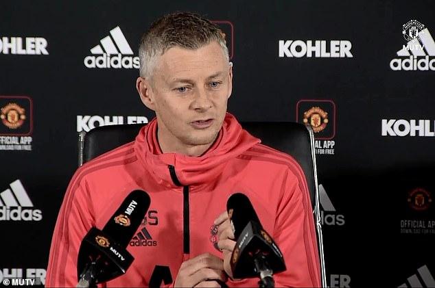 Ole Gunnar Solskjaer joked Sir Alex Ferguson will take Manchester United's team talk  SOLSKJAER REVEALS HOW HE PLANS TO USE SIR ALEX FERGUSON AHEAD OF MAN UNITED CLASH WITH LIVERPOOL 10135538 6733001 image m 12 1550826379203