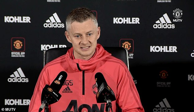 Solskjaer wants his players to know how important the visit of Liverpool on Sunday is