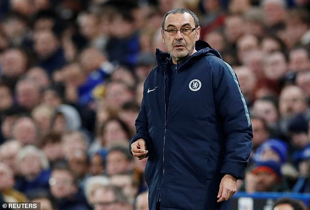Pep Guardiola is surprised at the intense scrutiny Maurizio Sarri is currently under  GUARDIOLA BREAKS THE HEART OF CHELSEA FANS AHEAD OF MAN CITY'S CUP FINAL 10146554 0 image a 38 1550846483847