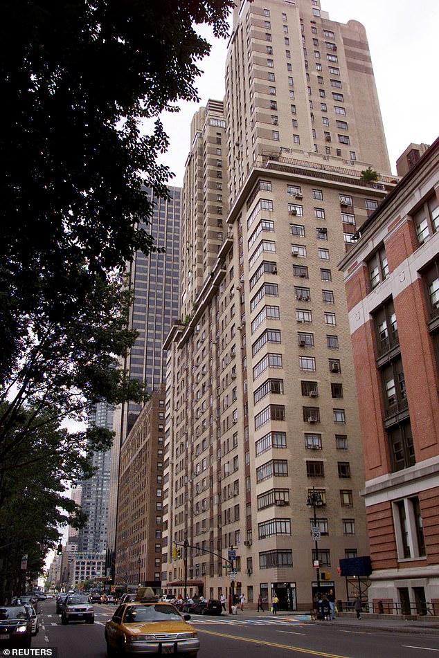 Jeff and Lauren's love nest? All of the New York properties are located on the Upper West Side at 25 Central Park West in a building known as the Century