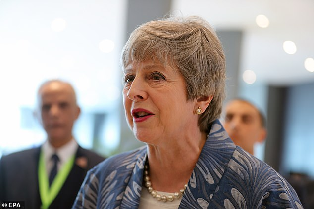Mrs May is holding talks with Angela Merkel today in the hope the German chancellor can break the deadlock in Brussels