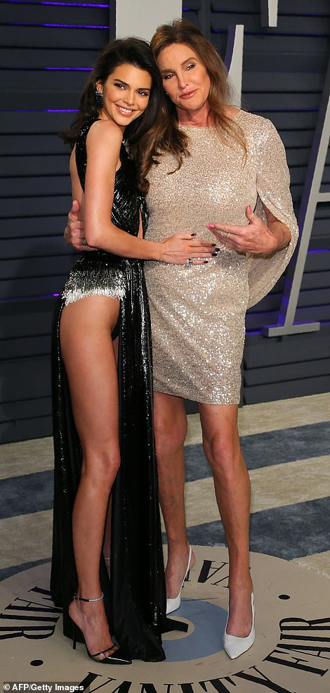 Leggy ladies: The duo bonded as they prepared to pose together for a few pictures