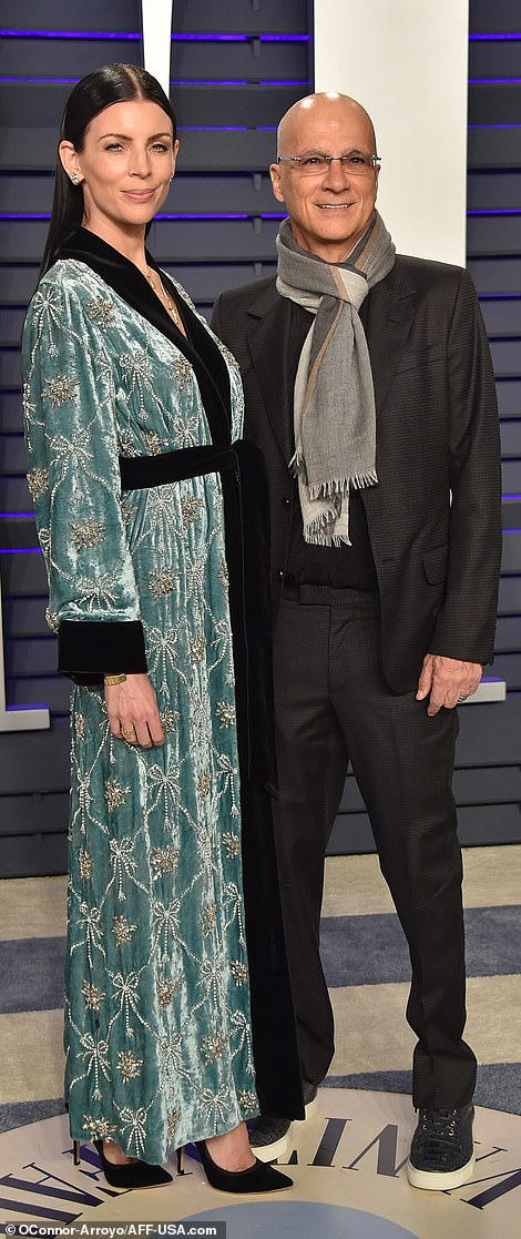 Bead all about it: Liberty Ross and her husband Jeremy Iovine looked very cool