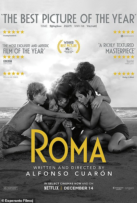 Changes: Roma is a semi-autobiographical depiction of writer Alfonso Cuarón's upbringing in Mexico City's Colonia Roma. Maxine's version of the poster is renamed Perra, which is the Spanish word for a female dog
