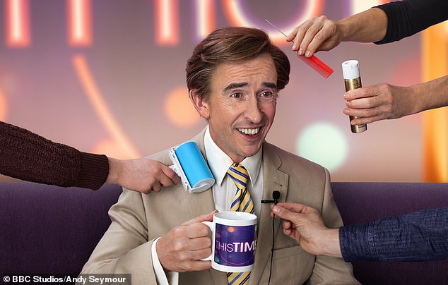 Alan Partridge, created and played comedian Steve Coogan with the help of satirist Armando Iannucci, is returning to the BBC after a 24 year hiatus with a series called This Time