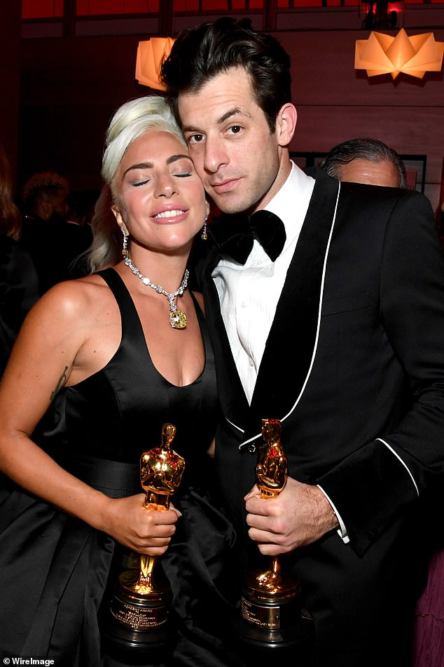 He won too: Shallows was written with Mark Ronson and was for the movie A Star Is Born