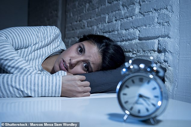 Insomnia is genetic: Scientists identify 57 DNA sites linked to sleeplessness (stock)