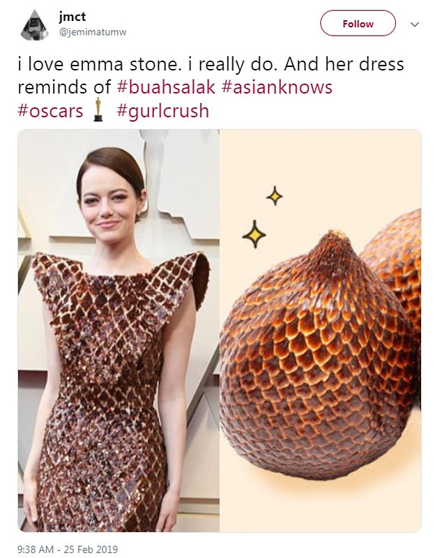Identical: One compared it to a buah salak or 'snake fruit' from Indonesia