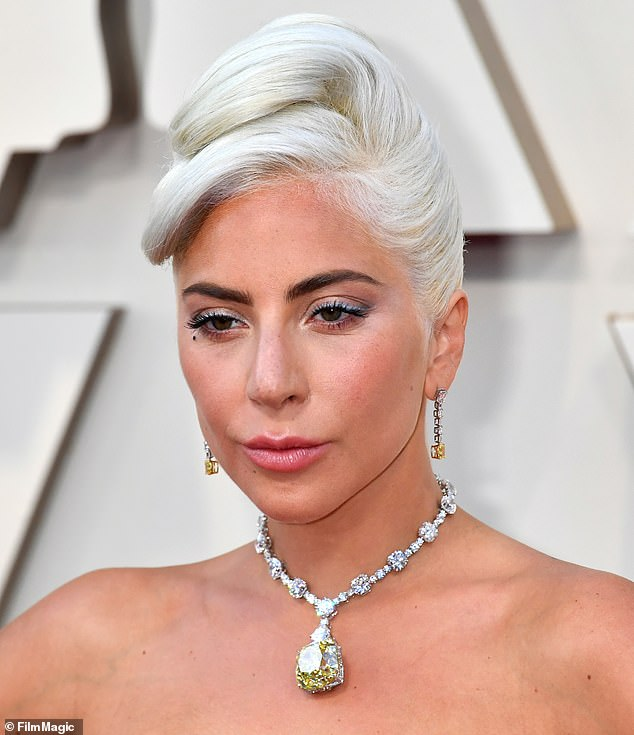 Stunning!Lady Gaga's makeup artist has revealed the products she used to paint the star's face for the 91st Annual Academy Awards in Hollywood, which took place on Sunday
