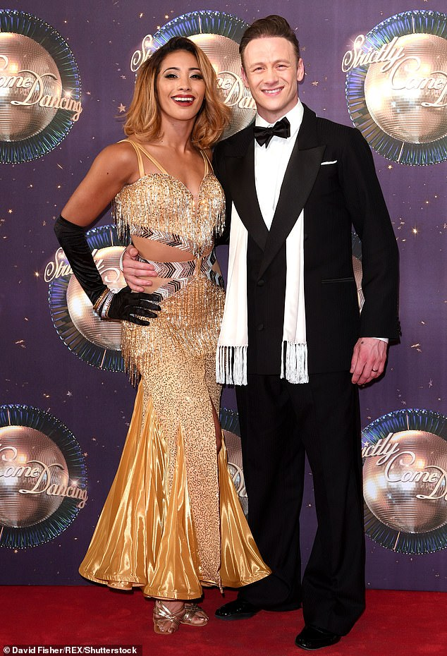 Strictly legend: Kevin, 36, (pictured with ex wife and fellow dancer Karen Clifton) has long been a Strictly Come Dancing favourite, joining the professional dancer line-up in 2013