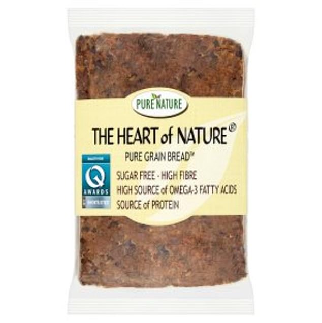 'The world's healthiest bread'. Full of protein and omega-3 and free from gluten, wheat & dairy