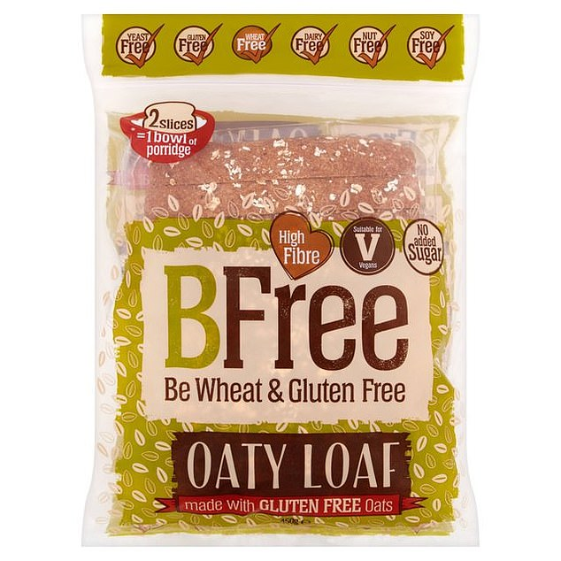 BFree: Free from gluten, dairy, egg, soy, nuts and yeast. Made with potato flour and sourdough
