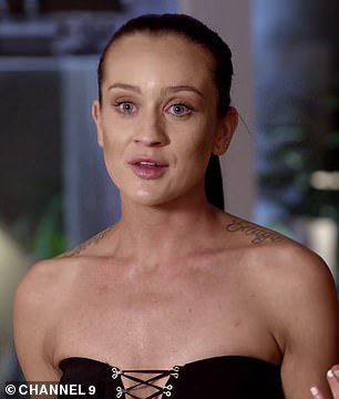 Before and after: The 28-year-old is now virtually unrecognisable compared to her time on the reality series